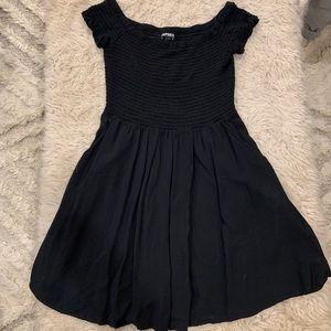 Black off the shoulder Express dress